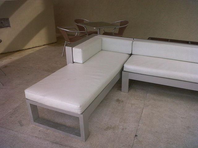 Salas para terrazas aluminio roga for Salas de terraza
